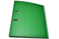 Папка-регистратор 50мм, бумвинил, зеленая OfficeSpace,