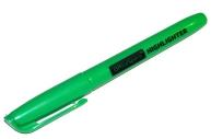 Текстовыделитель 1-3мм зеленый, OfficeSpace
