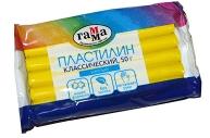 """Пластилин Гамма """"Классический""""желтый, 50г"""