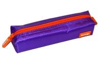 """Пенал 1 отделение 195*50*40 Berlingo """"Color"""", фиолетовый полиэстер"""