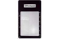 Лупа-закладка OfficeSpace, 85*55мм, с линейкой, 3-х кратное увеличение