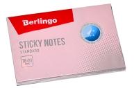 """Самоклеящийся блок Berlingo """"Standard"""", 76*51мм, 100л, розовый"""