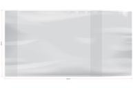 Обложка 295*560 д/учеб. и тетр. А4/конт. карт/атласов универсальная, ArtSpace, ПЭ 60мкм