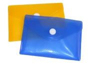Папка на кнопке, формат А7, 180 мкр, рефлённая, флуоресцентная, CALLIGRATA, МИКС