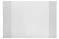 Обложка 210 х 350 мм, 50 мкм, для тетрадей и дневников ПЭ
