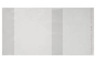 Обложка ПЭ 210 х 400 мм, 80 мкм, для тетрадей, с клеевым краем, универсальная