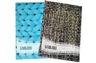 Блокнот А6, 24 листа на скрепке Calligrata «Фактура-1», обложка картон хром-эрзац