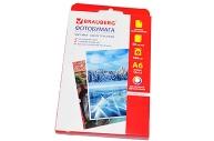 Фотобумага BRAUBERG для струйной печати 10х15 см, 180 г/м2, 50 л., односторонняя, матовая, 363127