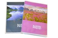 Фотоальбом BRAUBERG на 36 фото 10*15см, мягкая обложка, Пейзаж, ассорти, 390649