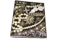 Тетрадь на кольцах 120л. BRAUBERG А5 175*215мм, кл., лам. карт., обл., Роскошь,  (2 вида), 402007