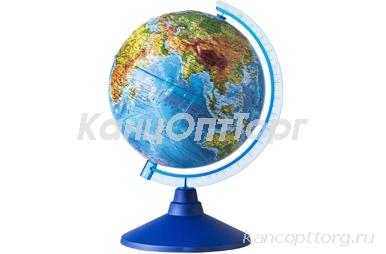 Глобус физический 250мм GLOBEN Классик Евро рельеф КеО22500193 (420301)