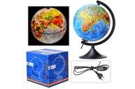Глобус физико-полит 210мм Классик подсветка GLOBEN 012100089