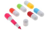 Ручка шариковая-прикол, «Капсула раздвижная», 12 см