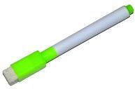 Маркер на водной основе с губкой 2х1, 5х11 см зелёный  4299386