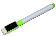 Маркер на водной основе с губкой и с магнитом 2х1, 5х11 см зелёный  4299393