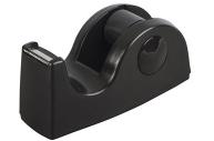 Диспенсер для клейкой ленты BRAUBERG настольный утяжеленный средний, черный, 11, 8см*5см*5см, 440142
