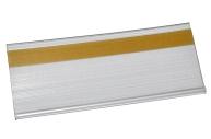 Ценникодержатель полочный, 10*4 см, цвет прозрачный, клеевой 4439507