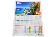 "2020 Календарь-табель А4 195*255 2020 ""Пейзажи"""
