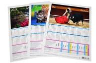 2021 Календарь-табель А4 ассорти