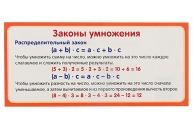 """Карточка """"Законы умножения""""  4560812"""
