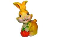 """Копилка-полистоун UW06-09221Y 15, 5 см """"Кролик с тыквой"""", 2 асс /2 /0 /36"""