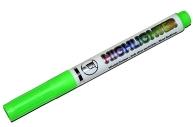 Текстмаркер наконечник скошенный 4мм зеленый  4634716