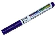 Маркер текстовыделитель наконечник скошенный 4мм фиолетовый  4634718