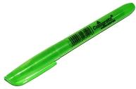 Текстмаркер скошенный 5 мм, зелёный