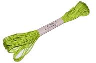 Нитки мулине №907, 8 ± 1 м, цвет травяной