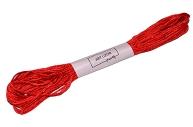 Нитки мулине №606, 8 ± 1 м, цвет красный