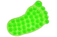 Мини-коврик для ванны «Нога», 11?12 см, цвет МИКС