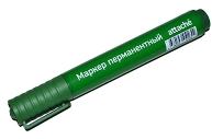 Маркер перманентный универсальный Attache Economyзеленый 2-3 мм