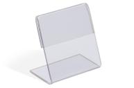 Ценникодержатель 3*3 пластик, 1мм, прозрачный 4834561