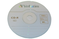 Диски CD-R VERBATIM 700Mb 52х 100шт Cake Box