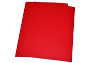 Обложки д/переплета BRAUBERG, КОМПЛЕКТ 100шт,  (тисн. под кожу), А4, картон 230г/м2, красные, 530948