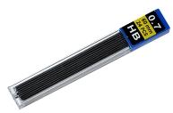 Грифели для механических карандашей, НВ, 0. 7 мм, 24 шт.
