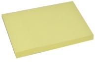 Блок с липким краем 51мм*76мм 80л пастель желтый