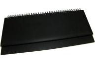 """ПЛАНИНГ 56 л. недатир. VIRANDO чёрный (56-3014)  (гребень, кожзам) 310х130 ТМ""""Collezione"""""""