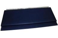"ПЛАНИНГ 56 л. недатир. VIRANDO синий (56-3016)  (гребень, кожзам) 310х130 ТМ""Collezione"""