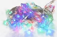 """НГ Гирлянда эл. 100 ламп 9м СНОУ БУМ """"Вьюн"""" мультицвет, 8реж., прозр провод 384-022"""