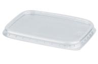 Крышка для контейнера 108х82мм, ПП, прозрачная, контейнеры код 604250-51-52-53-54, СТИРОЛПЛАСТ