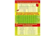 """Плакат А3 """"Тригонометрия"""" МИЛЕНД 10-08-0007"""