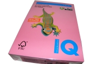 Бумага цветная IQ COLOR (А4, 80г, PI25-розовый, Австрия) ~~