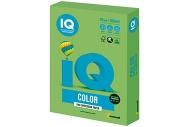Бумага цветная IQ color А4, 80 г/м, 500 л, интенсив, зеленая липа, LG46, ш/к 00938