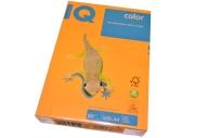 Бумага цветная IQ COLOR (А4, 80г, NEOOR-оранжевый неон, Австрия) ~~