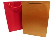 Пакет подар. бумага 984-4 Металлик, 38*28*10 см, цв. асс /12 /0 /300