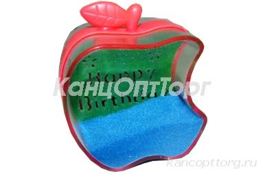 """Часы песочные 471 """"Яблоко"""" пластик, 5*5, 5 см /1 /0 /240"""