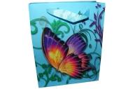 """Пакет подар. бумага 3800 """"Бабочки-красавицы"""" 17*21*8, 5 /12 /0 /840"""