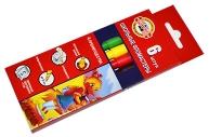 """Фломастеры Koh-I-Noor """"Утята"""", 06цв., трехгранные, смываемые, картон, европодвес"""
