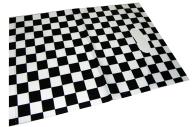 Пакет с прорубной ручкой 6042-4 Шахматы, 40*50см, целлофан /50 /0 /1500 /0